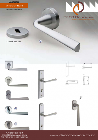 Deco Range Door Handle